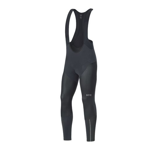 C7 PARTIAL GORE WINDSTOPPER PRO BIB TIGHTS+ thermal bib tights for men