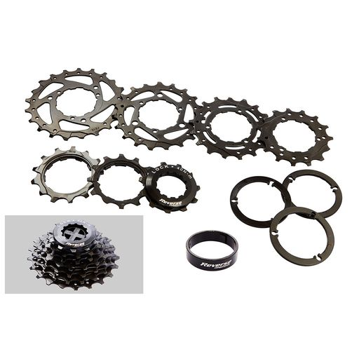 Black ONE  7-speed DH cassette (11-21)