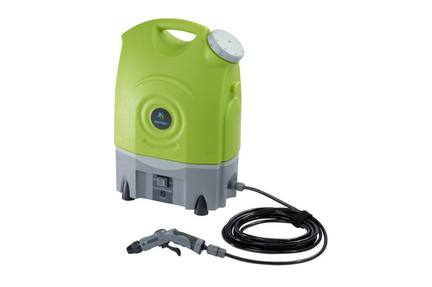 battery-powered pressure cleaner