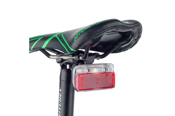 tail light holder for the saddle
